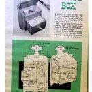 RECIPE BOX PLANS