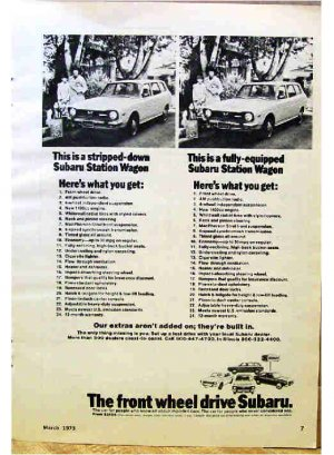 SUBARU AD 1973