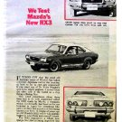 McCAHILL TESTS  MAZDA RX3 1973