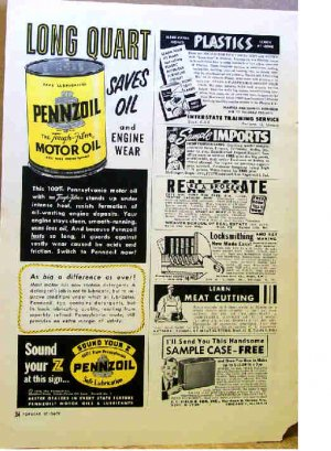 PENNZOIL AD 1954