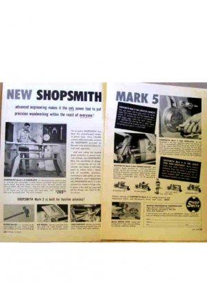 SHOP SMITH AD 1954