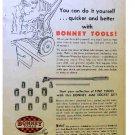 BONNEY TOOLS AD 1954