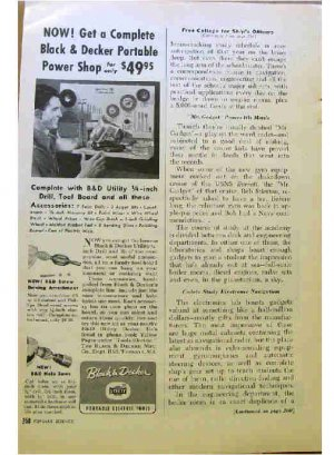 BLACK & DECKER AD 1954