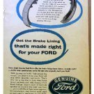 FORD PARTS AD 1954