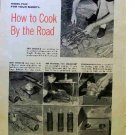 HOW TO COOK BY THE ROAD 1954