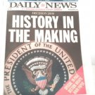 BARACK OBAMA NEW YORK DAILY NEWS  NEWSPAPER