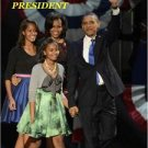 PRESIDENT BARACK OBAMA WINS RE-ELECTION USA TODAY 11/7/12