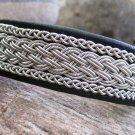 Black Reindeer Leather Lapland Bracelet
