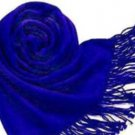 Pashmina - Shawl/ Scarf/ Single Colour Pashmina - Navy Blue