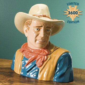 John Wayne Cookie Jar by Vandor
