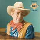 John Wayne Cookie Jar by Vandor