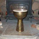 Brass doumbek drum