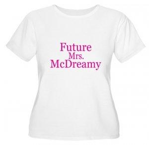Future Mrs. McDreamy Women's Plus Size Scoop Neck