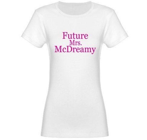 Future Mrs. McDreamy Jr. Baby Doll T-Shirt