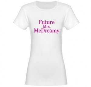 Future Mrs. McDreamy Jr. Baby Doll T-Shirt