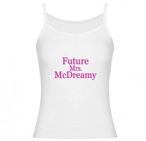 Future Mrs. McDreamy Jr. Spaghetti Tank