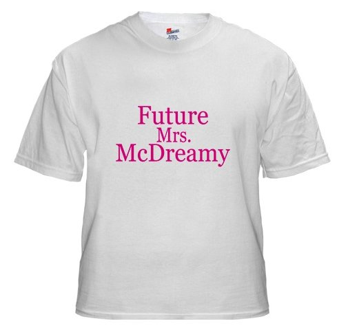 Future Mrs. McDreamy White T-Shirt