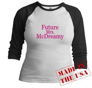 Future Mrs. McDreamy Jr. Raglan