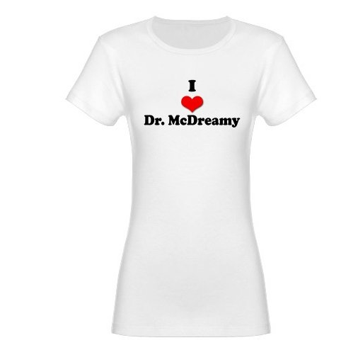 I Heart Dr. McDreamy Jr. Baby Doll T-Shirt