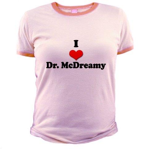 I Heart Dr. McDreamy Jr. Ringer T-Shirt