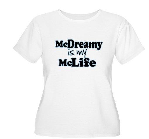 McDreamy is My McLife Women's Plus Size Scoop Neck