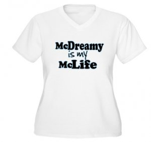 McDreamy is My McLife Women's Plus Size V-Neck T-Shirt