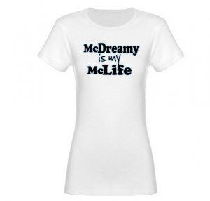 McDreamy is My McLife Jr. Baby Doll T-Shirt