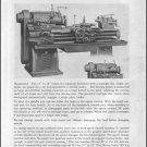 LeBlond 12 14 16 18 Service Manual and Repair Parts