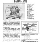 Walker-Turner RA1104-6-7-8 Radial Arm Saw Manual