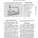 Walker-Turner J782 Jig Saw Manual J.S.73 Series 700
