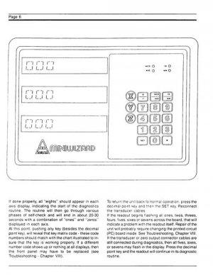 Anilam Wizard Digital Readouts Operating Manual