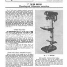 Delta Rockwell 17 Inch Drill Press Manual PM-1519