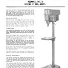Rockwell Delta Special 15 Inch Drill Press Manual