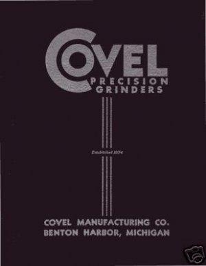 Covel 7B Hand Feed Grinder Manual