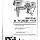 Kysor Johnson Model J Instructions and Parts Manual