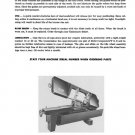 Kalamazoo Service & Parts Model 13A Bandsaw Manual