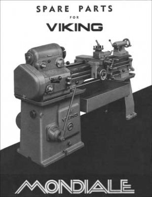 Mondiale Viking Lathe Parts Manual