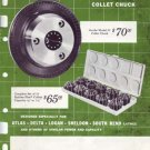 Jacobs Model 50 Collet Chuck Product Brochure Manual