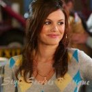 Size M: GORGEOUS CASHMERE GREY ARGYLE WOOL SWEATER - Rachel Bilson