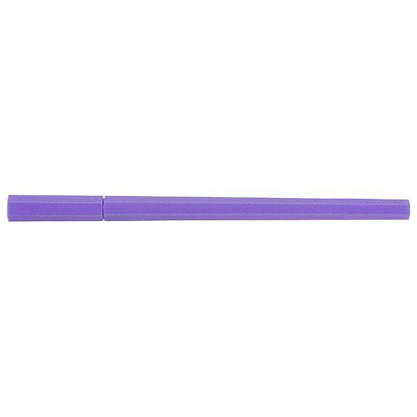 MUJI Japan Double Ended Hybrid Pen HEXAGONAL - Light Purple