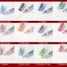 MUJI Japan Gel-Ink Ballpoint Pen 0.38mm 6 colors set