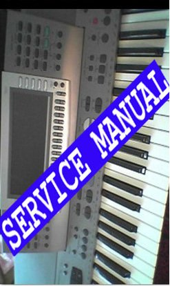 TECHNICS KN-6000 (KN6000) KEYBOARD *  SERVICE MANUAL *