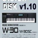 ROLAND W-30 W30 -  System OS Floppy Disk v1.10