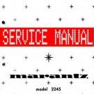MARANTZ 2245 RECEIVER - SERVICE MANUAL -