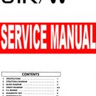 KORG 01R/w o1Rw 01Rw specific   ** SERVICE MANUAL **