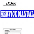 KORG  iX-300 / iX300  KEYBOARD -= SERVICE MANUAL =-