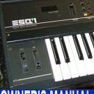 ENSONIQ ESQ-1 ESQ1  -= OWNER'S MANUAL =- *Paper