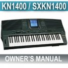TECHNICS KN-1400 (KN1400) * OWNERS  MANUAL *