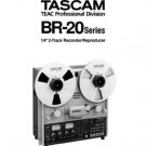 TASCAM BR-20 BR20 * OWNERS manual *