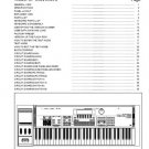 ROLAND XP-60 XP60 SERVICE MANUAL / NOTES